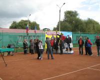 Международный теннисный турнир, сентябрь 2012г.